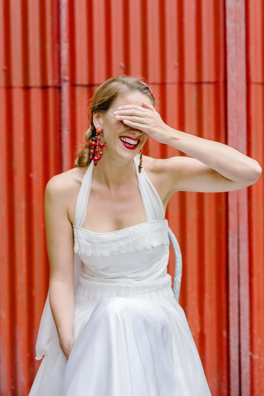 Brautkleid im spanischen, mexikanischen Boho Stil Köln