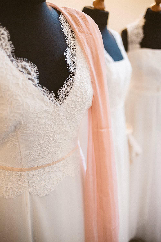 Hochzeitskleid im Vintage-Stil