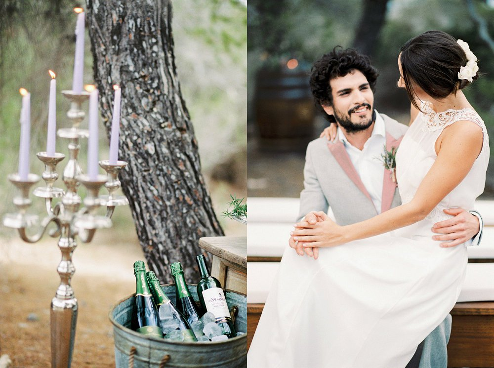 Brautkleid mit Spitzenkragen