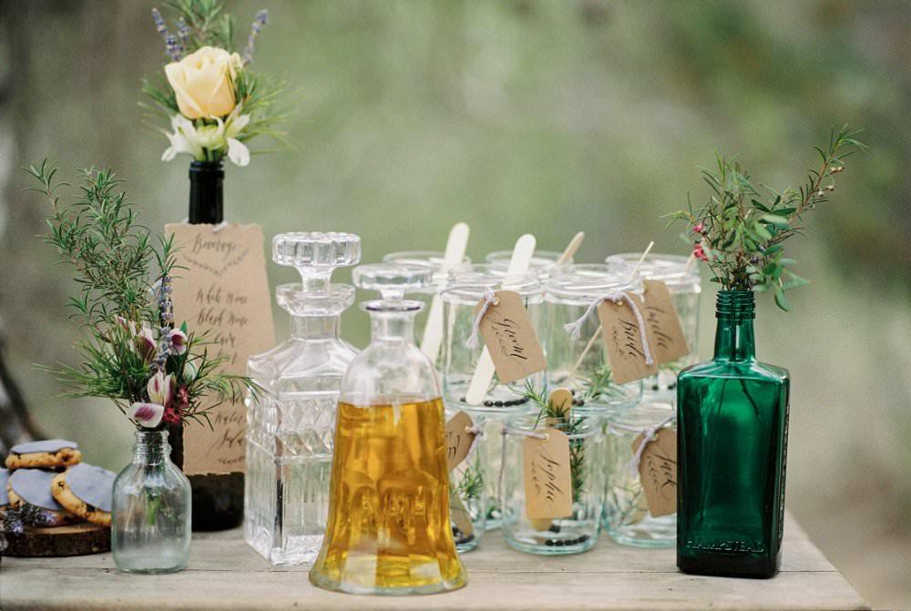Whisky-Bar für die Hochzeit