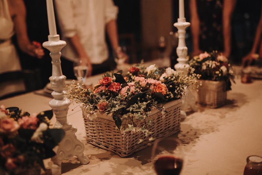 Tischdeko Toskana Hochzeit