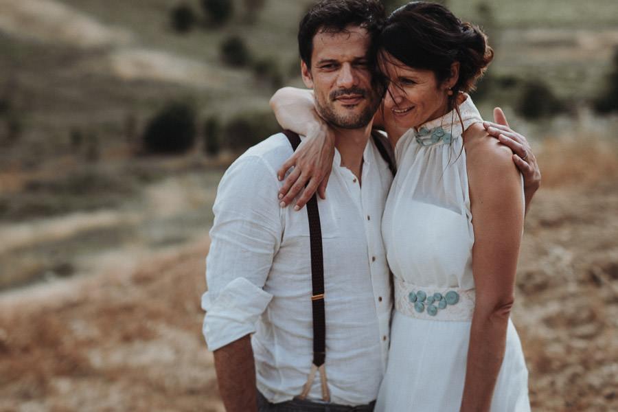 Hochzeitskleider Neckholder Vintage Spitze