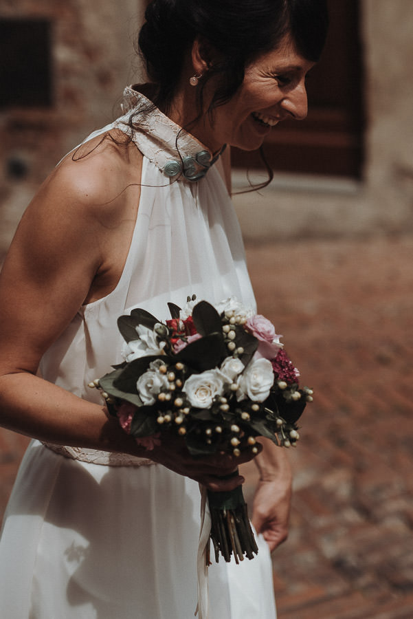 Bridal bouquet tuscany wedding