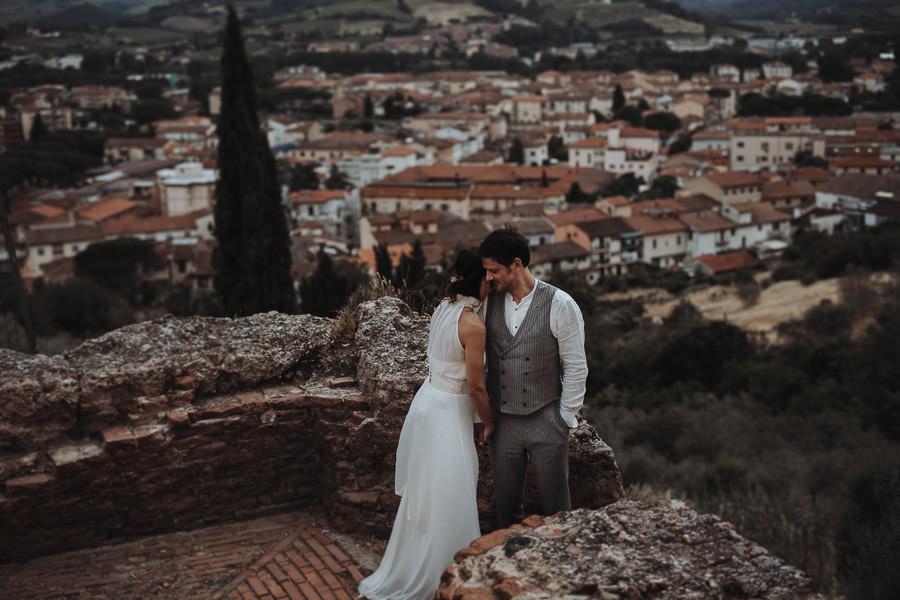 Brautkleid aus Chiffon