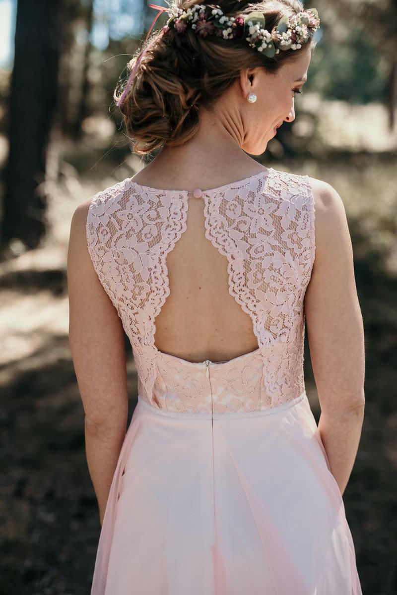 Kleid Standesamt Altrosa  Atlanta 2022