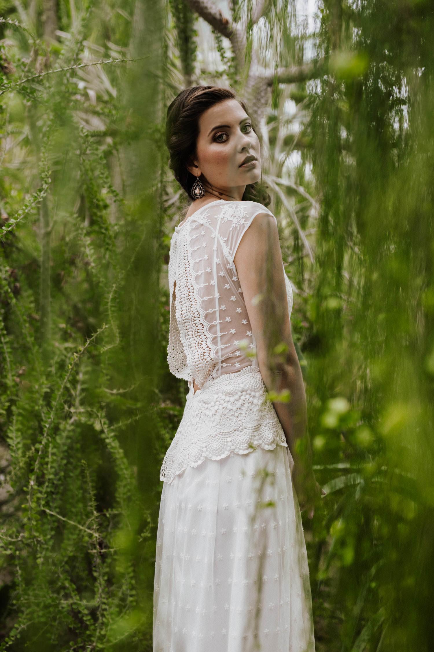 Brautmoden Köln: Boho Brautkleider von Claudia Heller