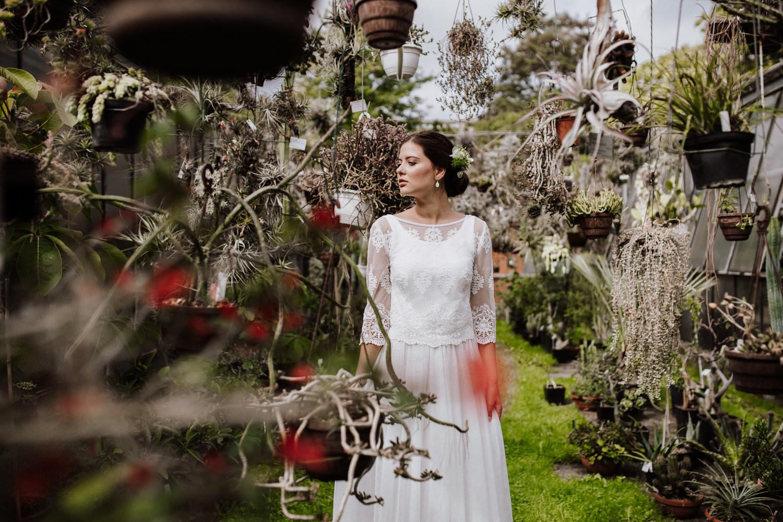 Brautkleider verliebt in die Schönheit der Natur: Die Brautmoden-Kollektion 2019