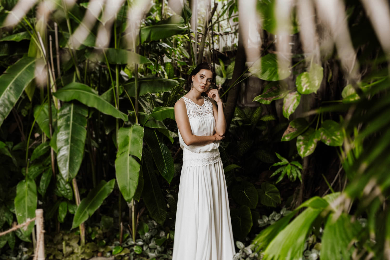 Veganes Boho-Brautkleid l von Claudia Heller