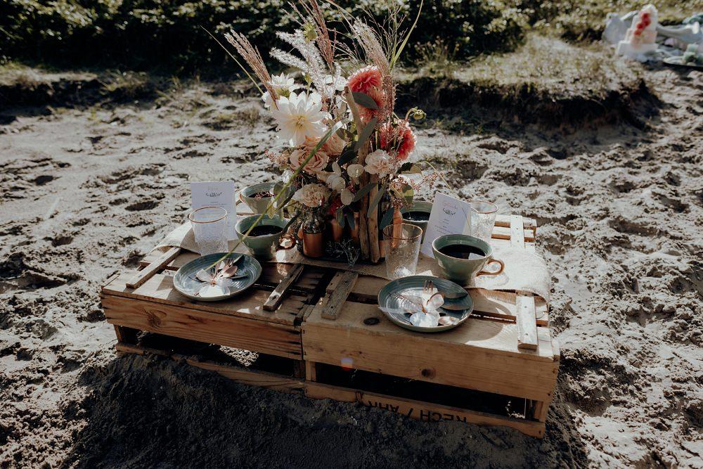 Hochzeit Boho Stil am Strand