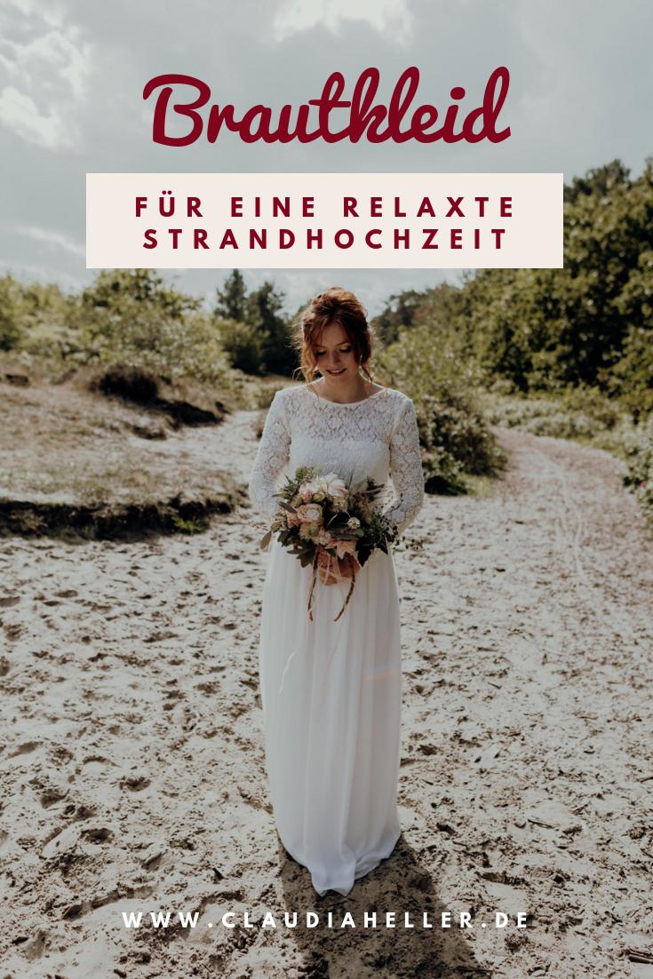 Hochzeitskleid Strand Spitze l von Claudia Heller Modedesign