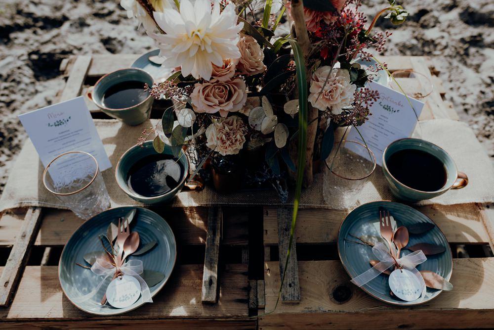 Boho Tischdeko Ideen