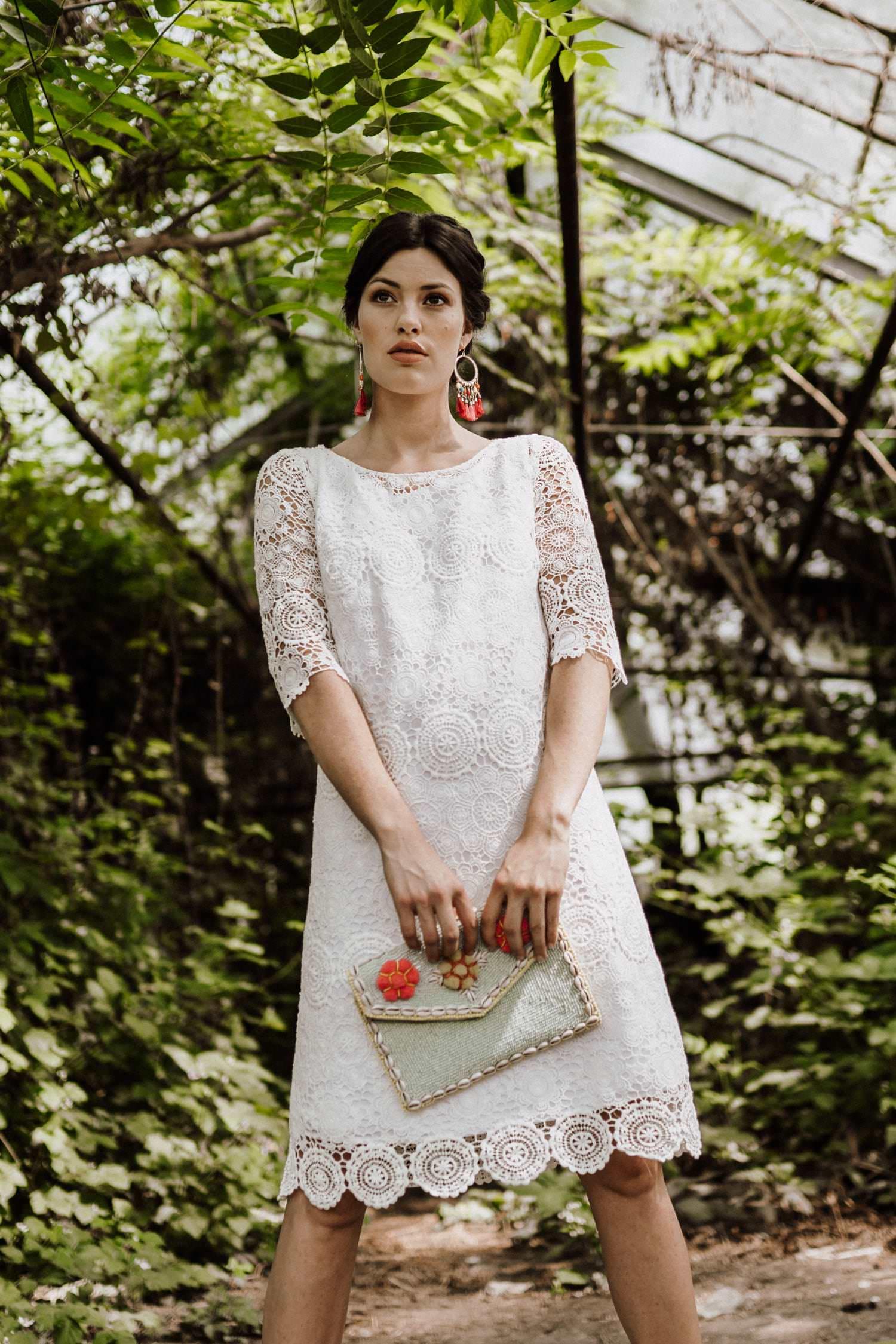 Kurz spitze hochzeitskleid Brautkleid Spitze