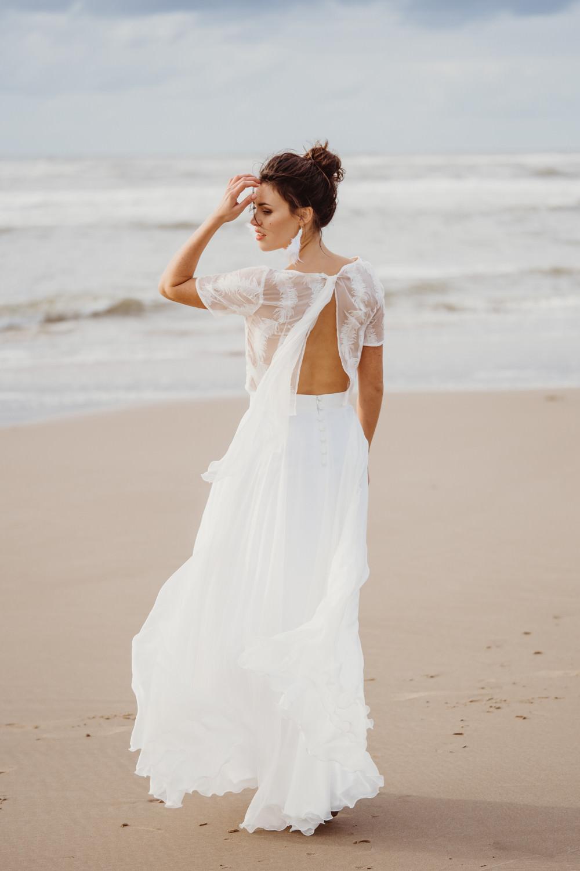 Hochzeitskleid modern für die Strand Hochzeit