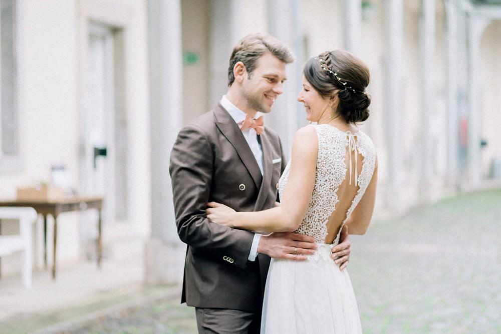 Brautkleid Romy von Claudia Heller - Hochzeit Schloss Benrath