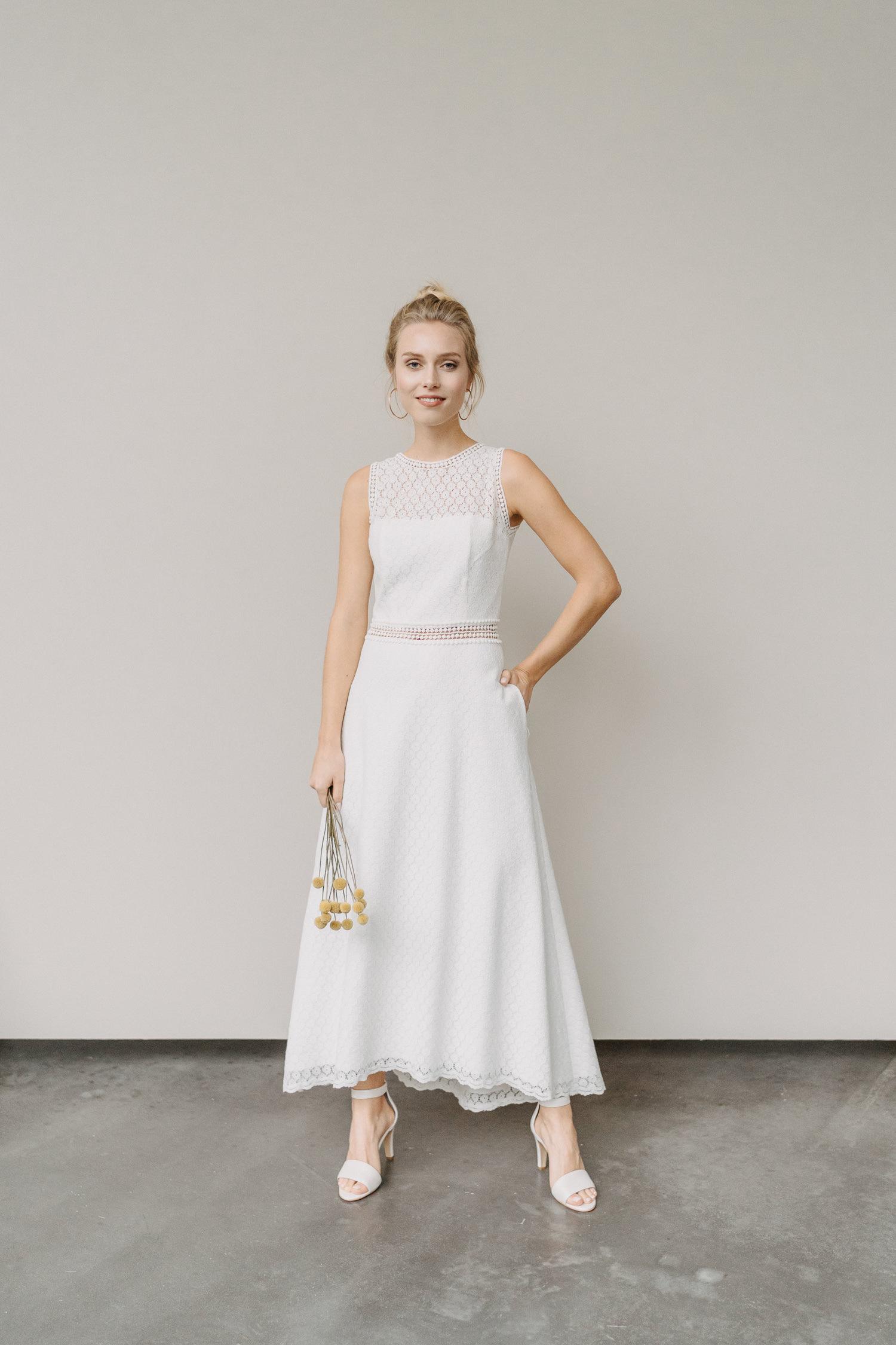 Brautkleid Olivia mit Taschen