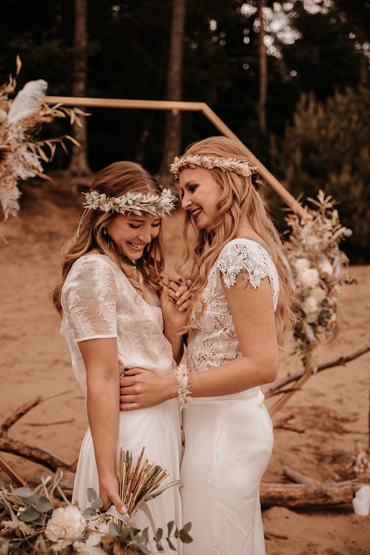 Love is Love: Braut-Outfits für eine Freie Trauung