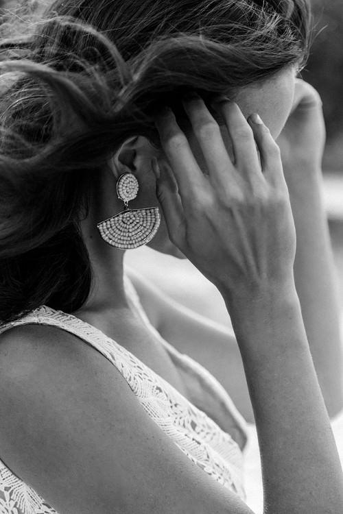Leichtes Hochzeitskleid Coro ohne Ärmel von Claudia Heller Brautmode Köln