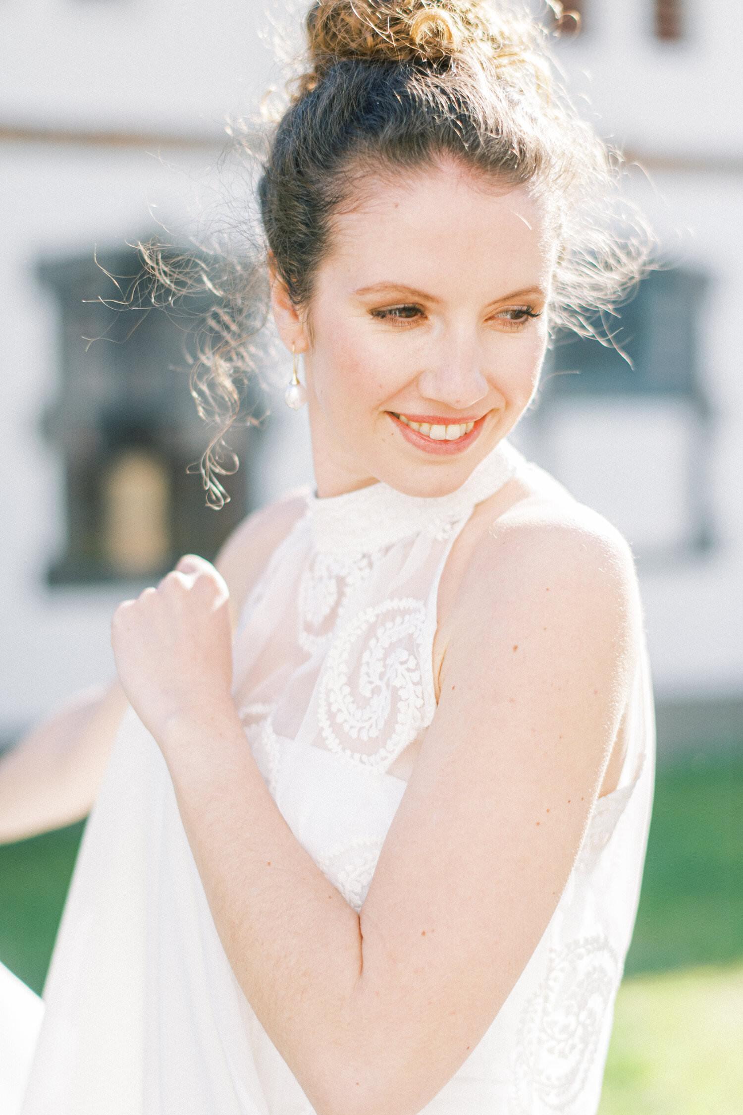 Langes Brautkleid NADINE :)
