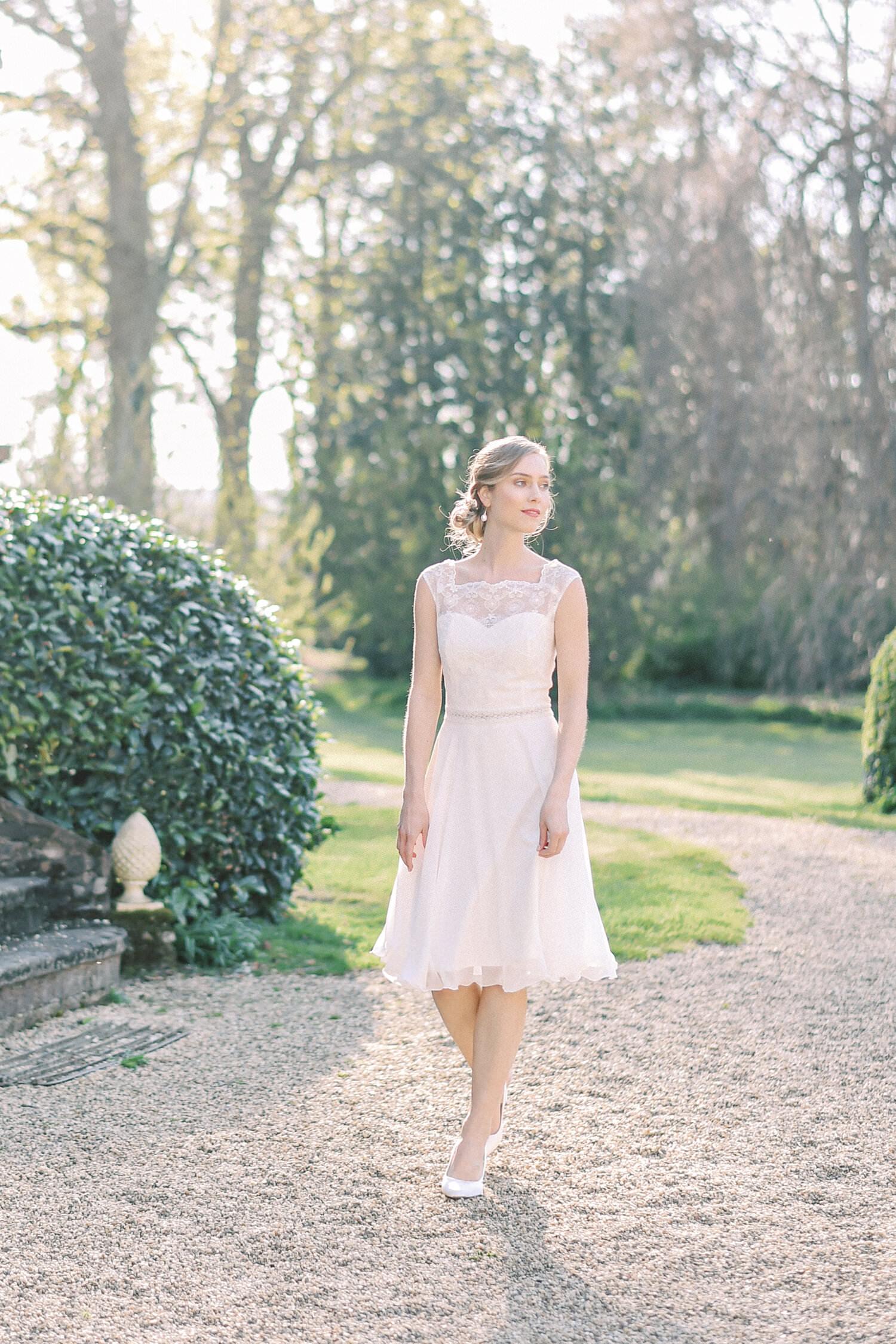 Kurzes Brautkleid Charlotte