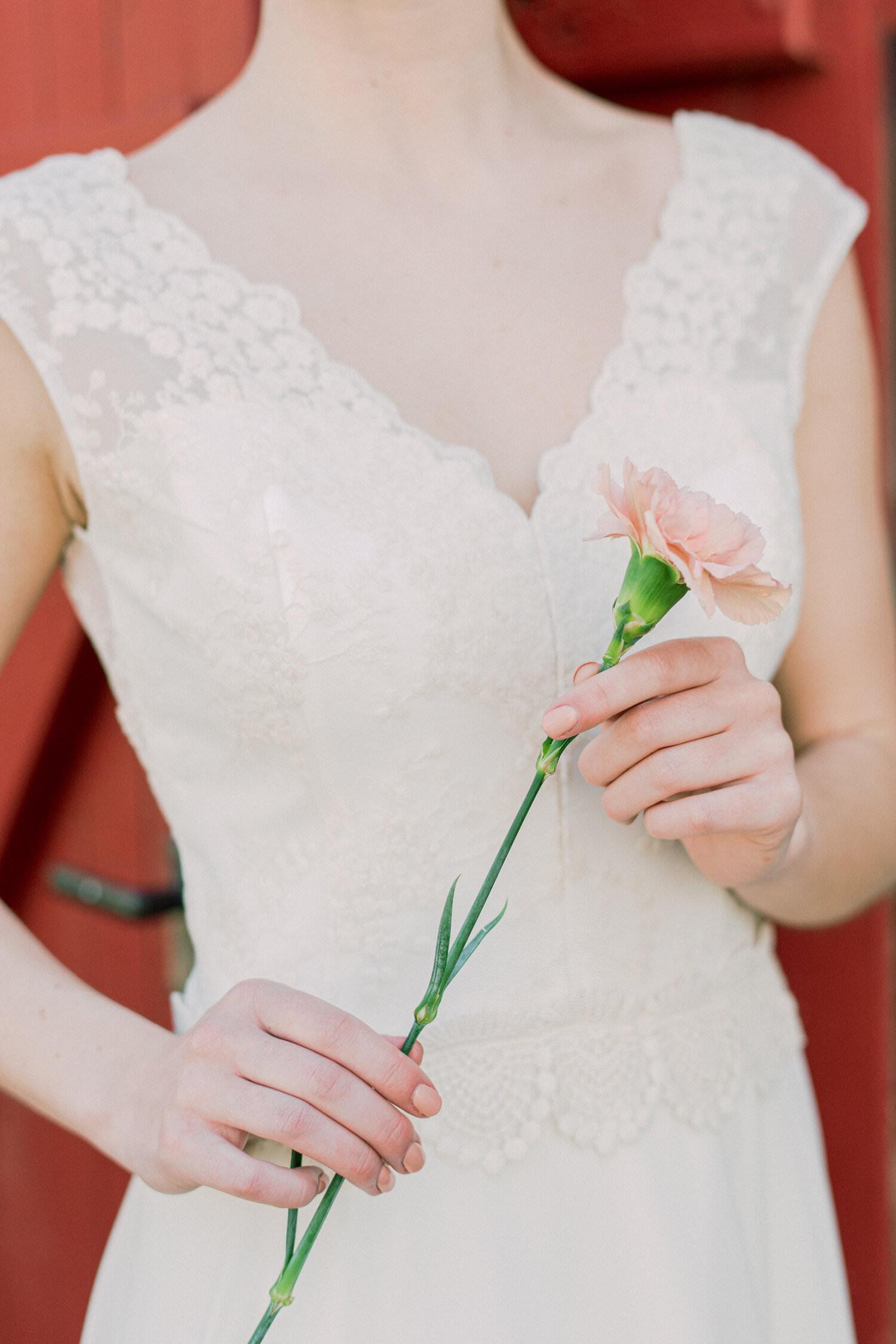 Kurzes Brautkleid Leona