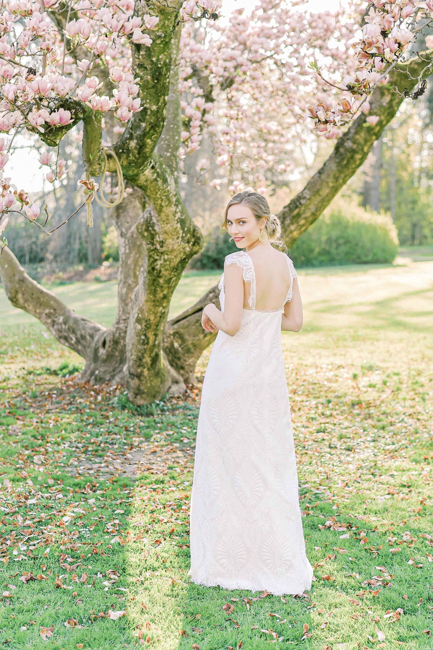 Langes Brautkleid Nele