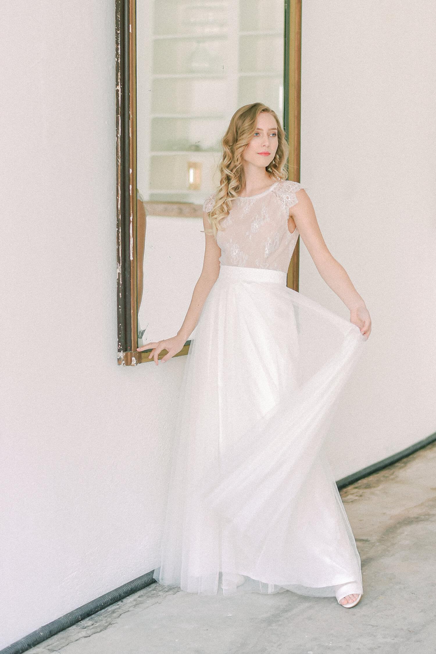 Langes Brautkleid Rachel