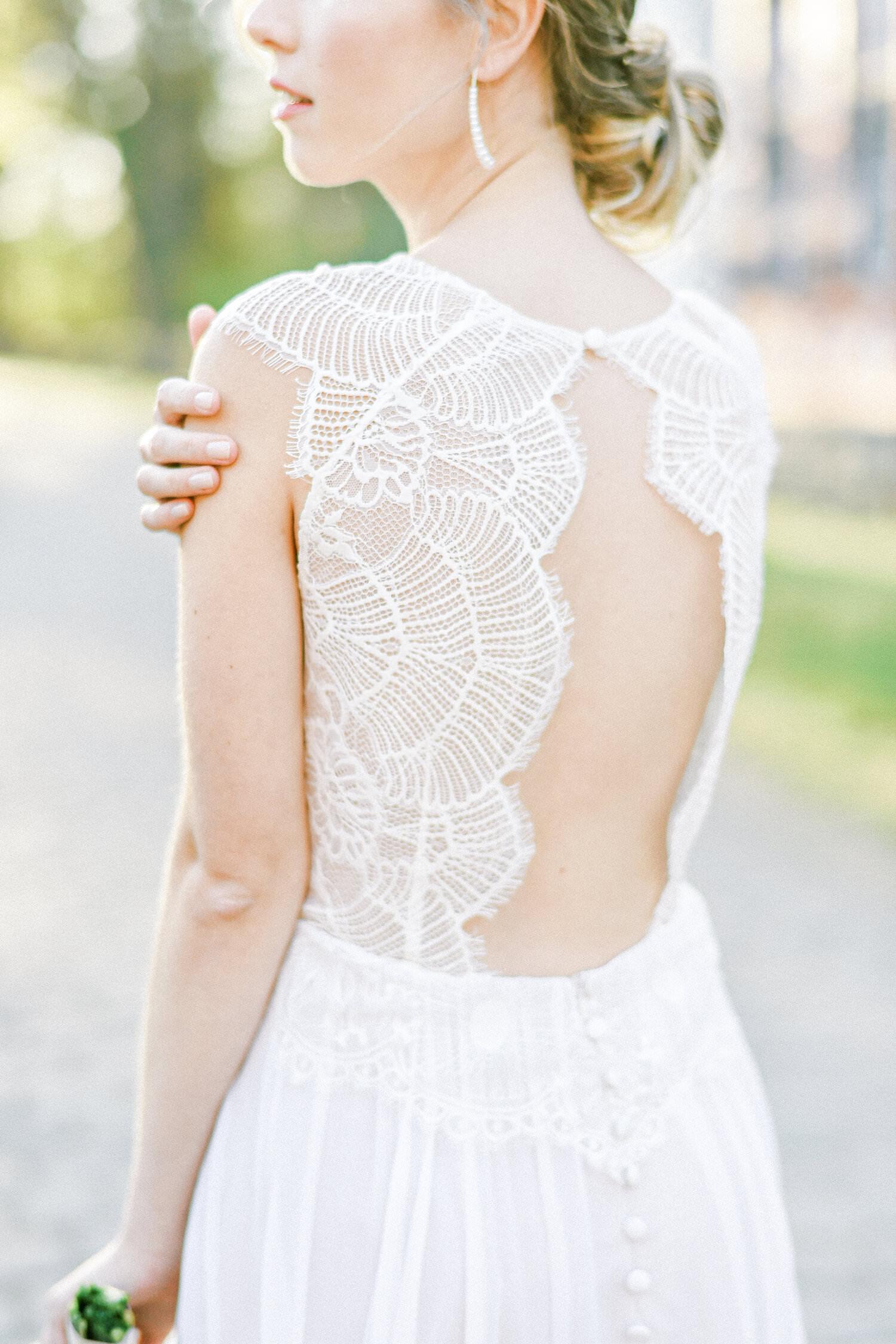 Langes Brautkleid Scarlett