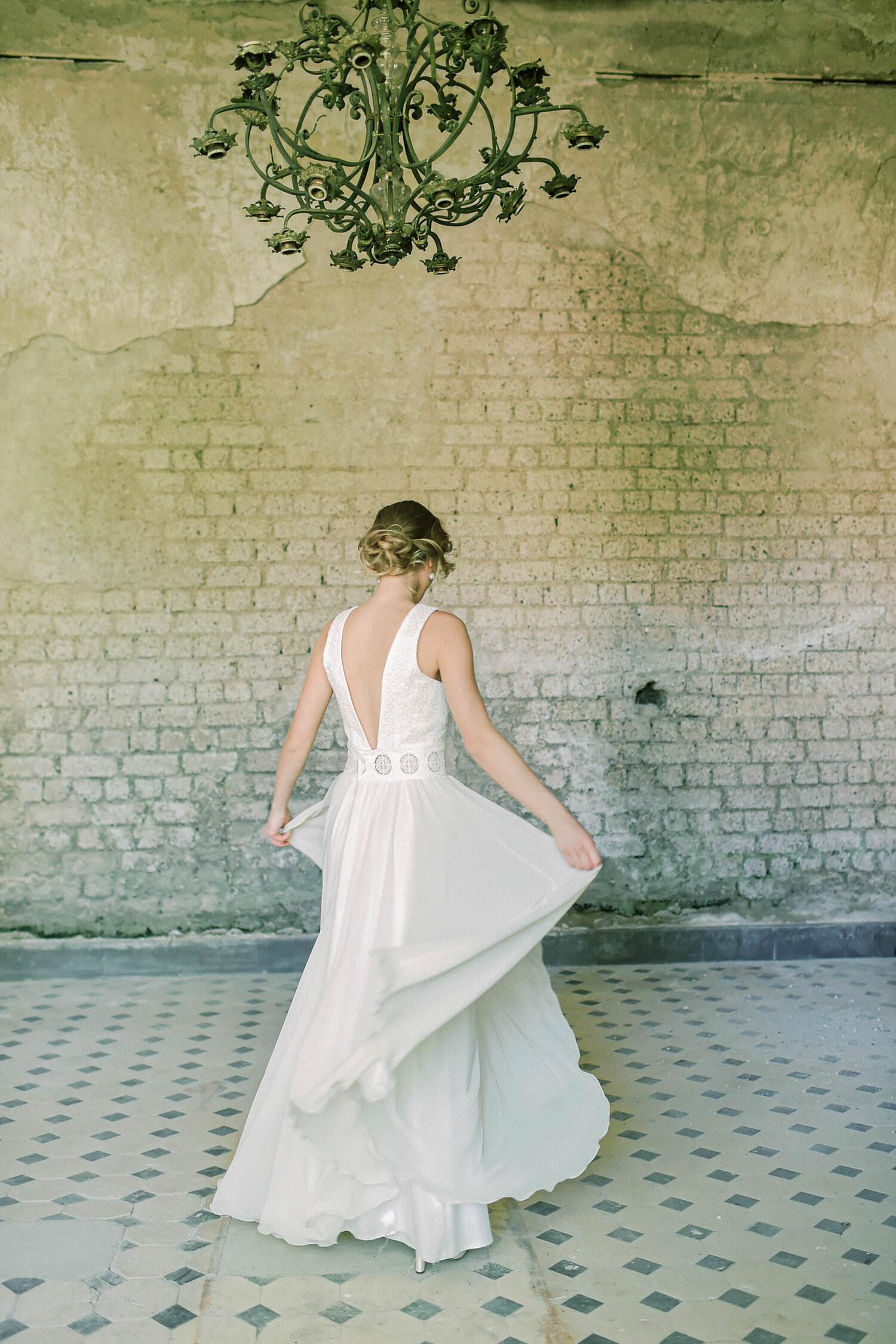 Langes Brautkleid Sienna