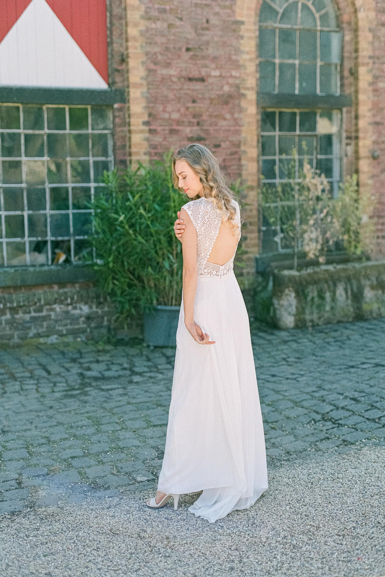 Langes Brautkleid Virgina