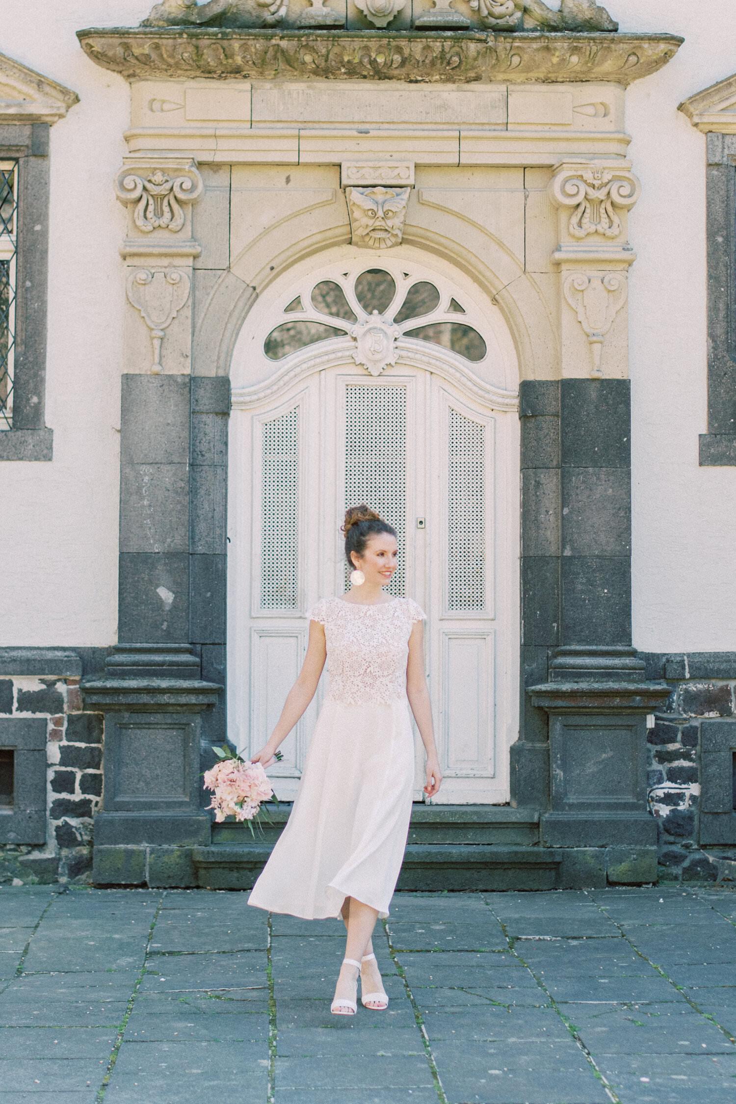 Kurzes Brautkleid Amy