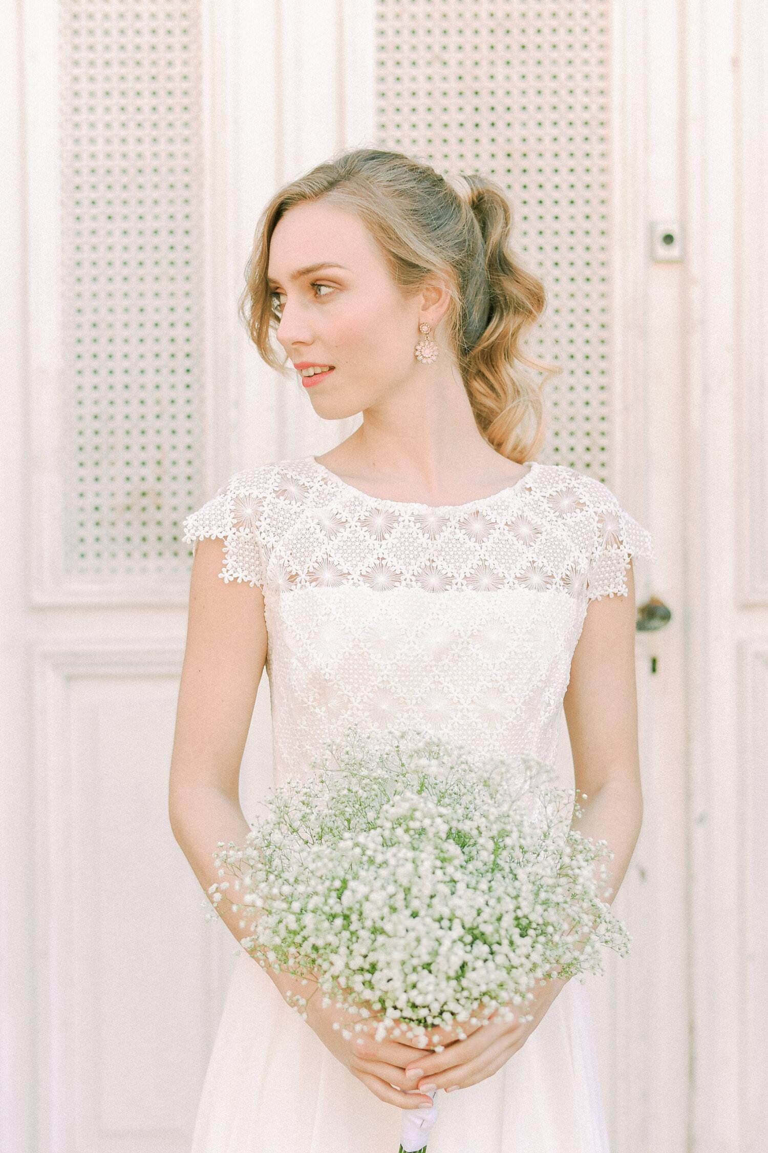 Kurzes Brautkleid Georgia